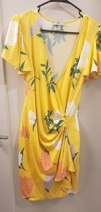 ASOS yellow dress. Size 6